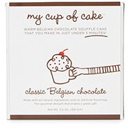 MY CUP OF CAKE - Classic Belgian Chocolate Cake In A Mug