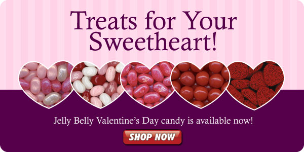 Valentine's Day Candy is  Available at Jelly Belly!