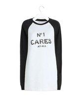 Reason No1 Cares Text Raglan