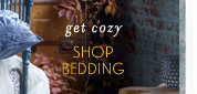 Shop bedding.