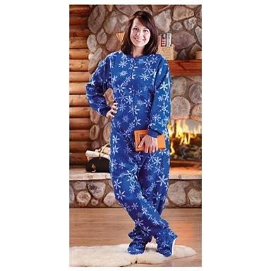 Women's Guide Gear® Footy Pajamas