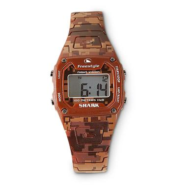 Freestyle® Shark Digital Night Vision Camo Watch