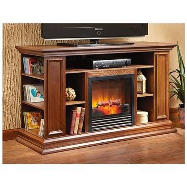 CastleCreek® Media Center Fireplace
