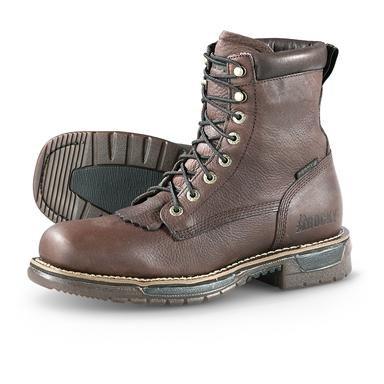 """Men's Rocky® Waterproof Ride 8"""" Steel Toe Boots"""