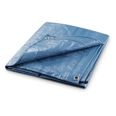 4-Pk. of waterproof Polyethylene Tarps