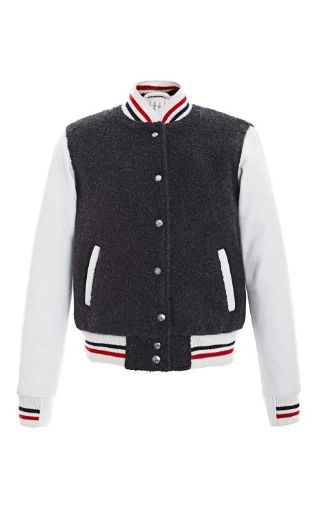 Letterman Jacket in Cashmere