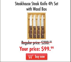 Steakhouse Steak Knife Set