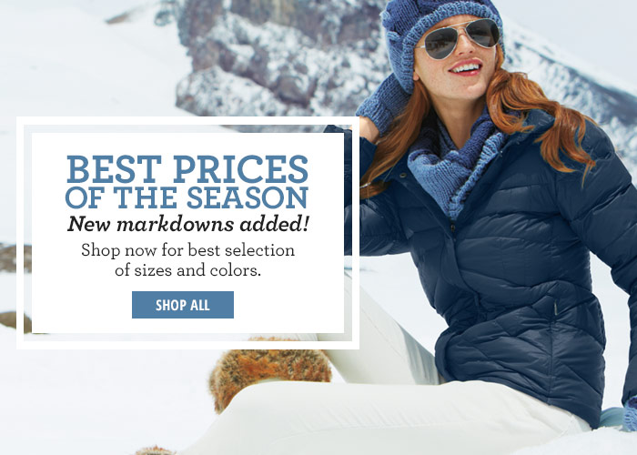 Best Prices of the Season - New Markdowns Added!