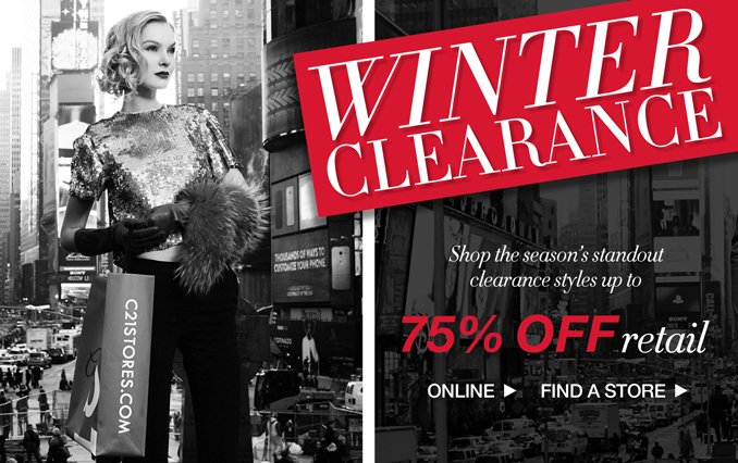 Shop Women's Winter Clearance Up to 75% Off