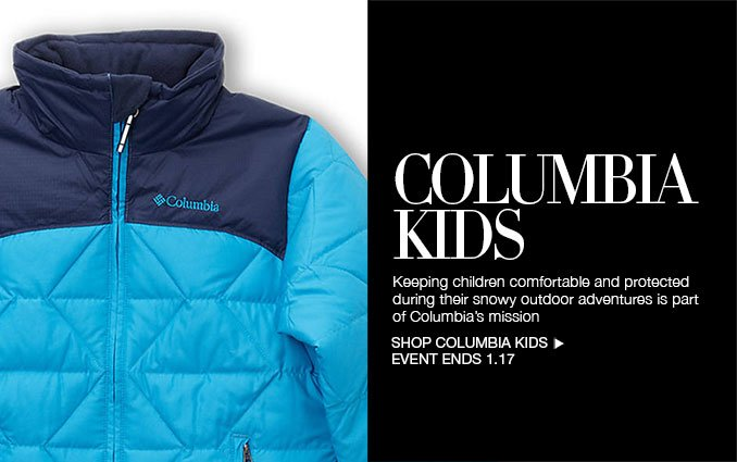 Shop Columbia for Kids