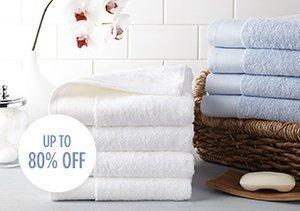 The White Sale: Bath Towels