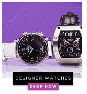 Designer Watches. Shop Now