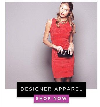 Designer Apparel. Shop Now