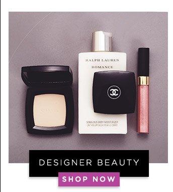 Designer Beauty. Shop Now