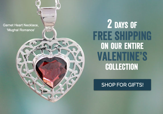 2 Days Of Free Shipping On Our Entire Valentine's Collection - Shop For Gifts!
