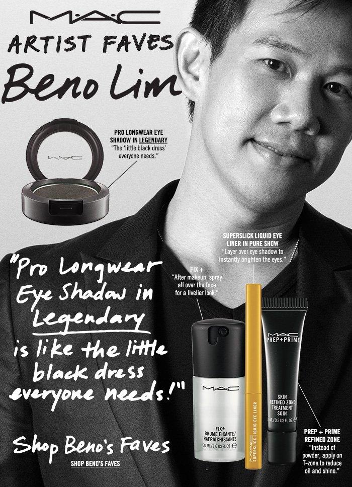 """""""Pro Longwear Eye Shadow in Legendary is like the little black dress everyone needs!"""" Shop Beno's Faves"""
