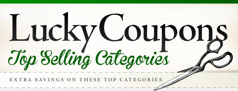Coupon Corner Categories