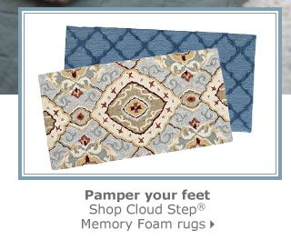 Cloud Step Memory Foam Rugs