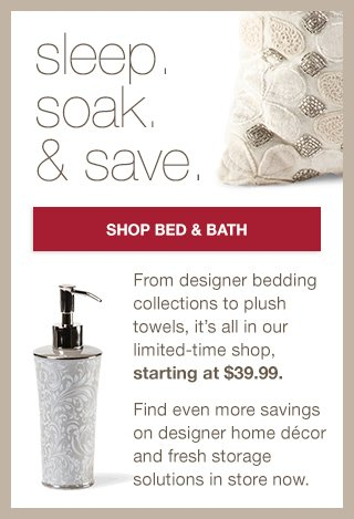 shop bed & bath