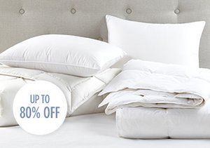 The White Sale: Down Bedding