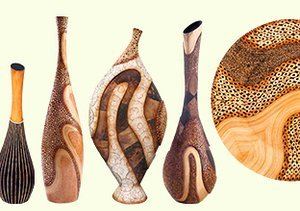 Uniquely Crafted: Bamboo & Shell Décor