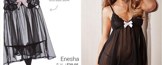 Enesha lingerie set