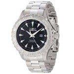 Invicta 12554 Men's Pro Diver Ocean Ghost Black Dial Steel Bracelet Dive Watch