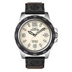 Timex T49886 Men's Expedition Rugged Metal Cream Dial Brown Nylon Strap Analog Watch