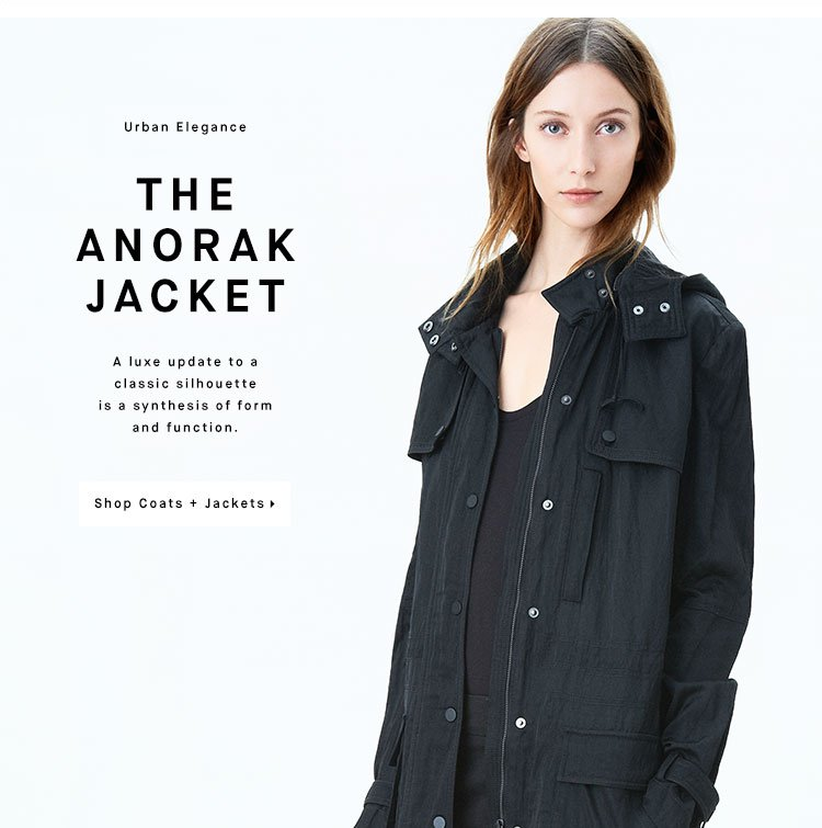 THE ANORAK JACKET - Shop Coats + Jackets