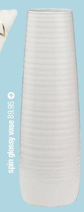 spin glossy vase 89.95