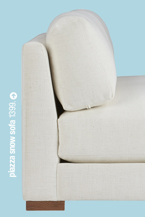 piazza snow sofa 1399.