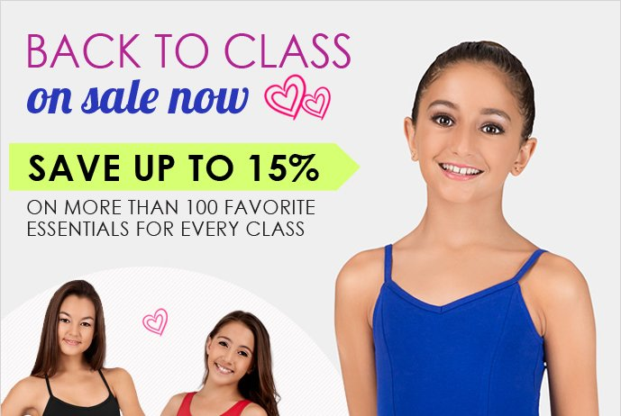 Back to Class Sale