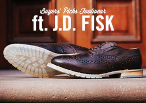 Shop Buyers' Picks: Footwear ft J.D. Fisk