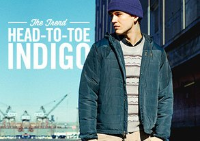 Shop The Trend: Head-to-Toe Indigo