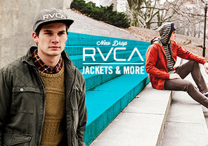 Shop NEW DROP: RVCA Jackets & More