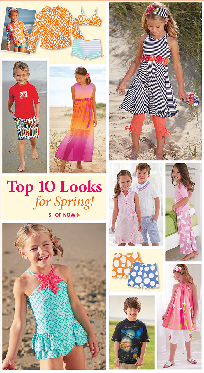 Shop the Top 10 Looks for Spring!