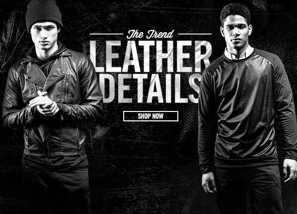 Shop Get The Leather Look: NEW Jackets