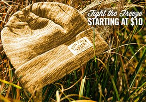 Shop Fight the Freeze: Starting at $10