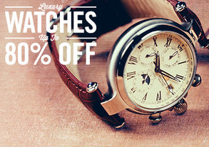 Shop Luxury Watches Up to 80% Off