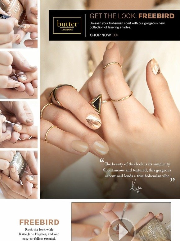 Butter London: Boho Rock: The new nail art neutrals | Milled