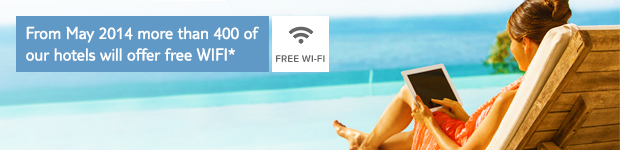 hotels with WIFI from  Thomson