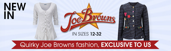 Quirky Joe Browns fashion, EXCLUSIVE TO US
