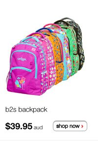 b2s backpack $39.95aud - shop now >