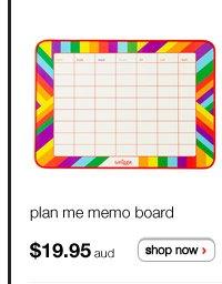 plan me memo board $19.95aud - shop now >
