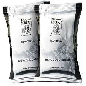 Douwe Egberts 100% colombian pillow packs