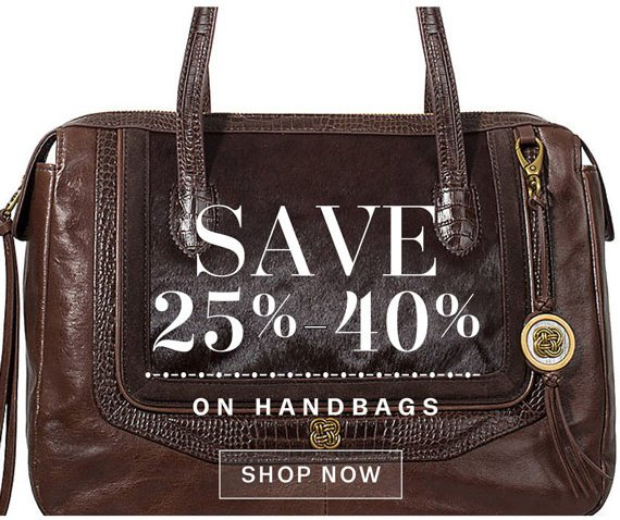 Save 25%-40% on handbags. Shop Now