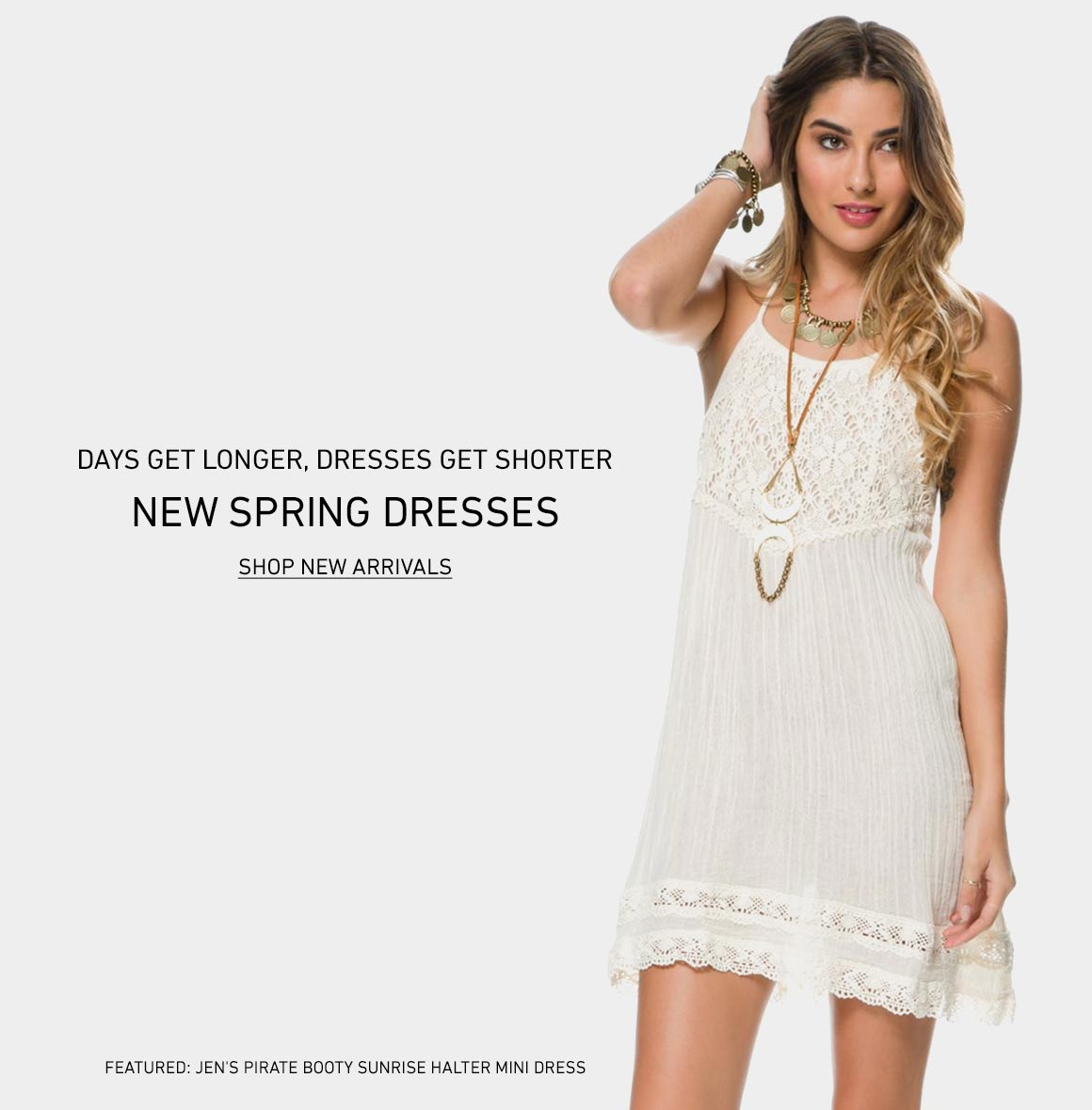 Days Get Longer, Dresses Get Shorter: Shop New Spring Dresses