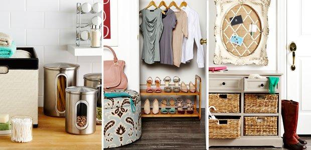Keep Every Room Organized: Shelves, Racks, & More