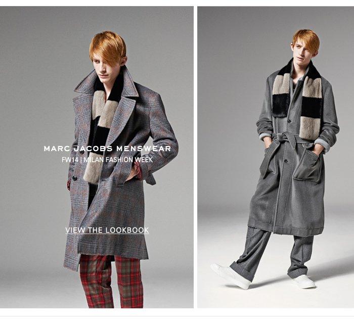 Marc Jacobs | FW14 Menswear Lookbook
