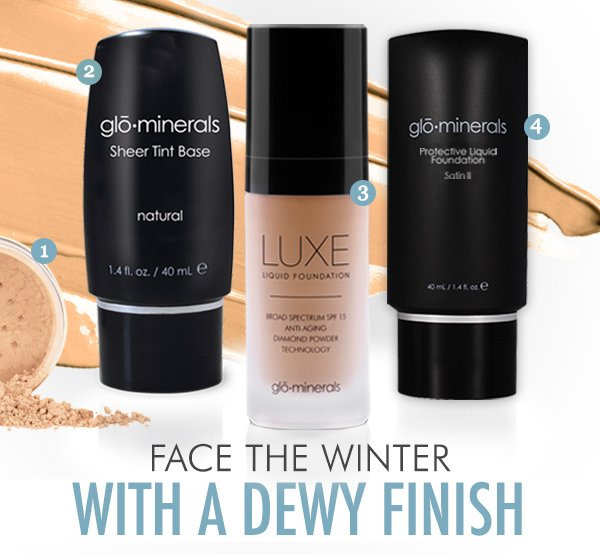 Face the Winter with a dewy finish